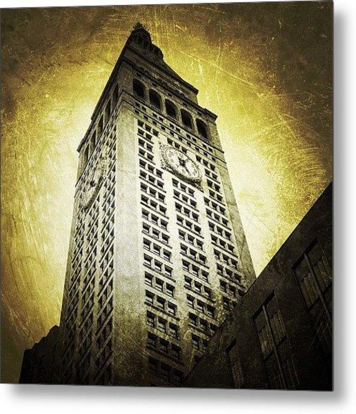 Metlife Tower Metal Print