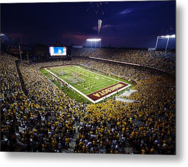 Minnesota Tcf Bank Stadium Metal Print