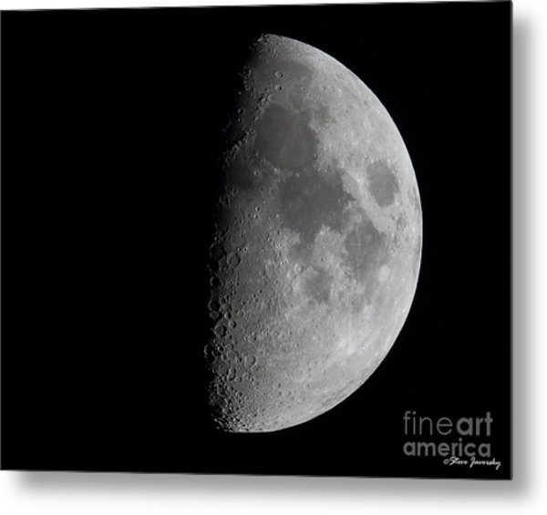 Moon Metal Print by Steve Javorsky