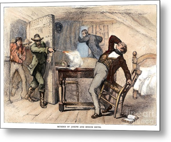 Murder Of Smith, 1844 Metal Print