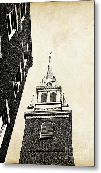Old North Church In Boston Metal Print