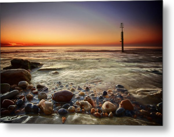Pebbles Metal Print by Mark Leader