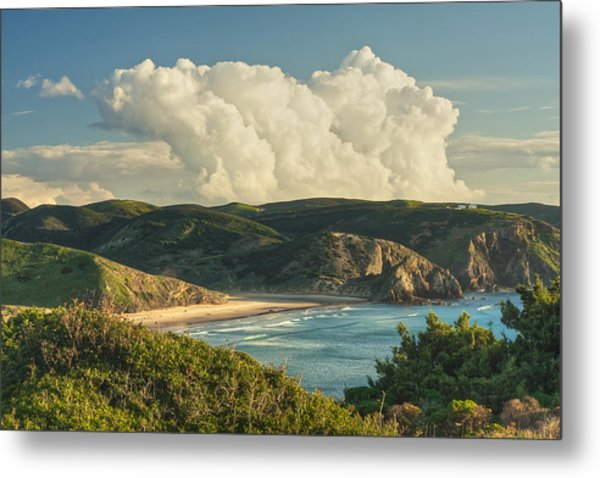 Praia Do Amado Metal Print
