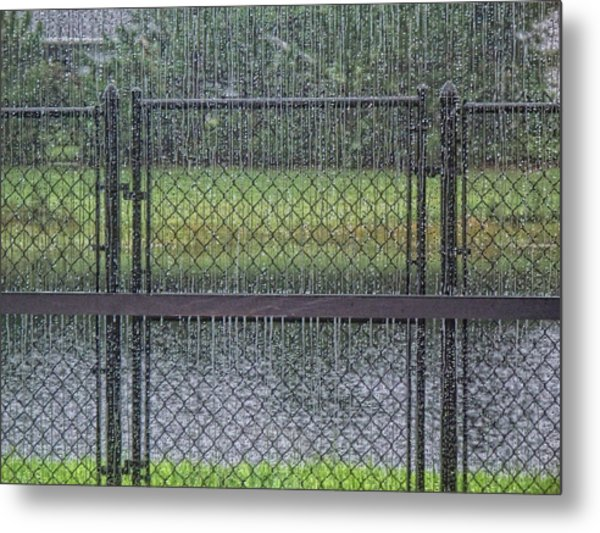 Rainy Day Metal Print by Marilyn Atwell