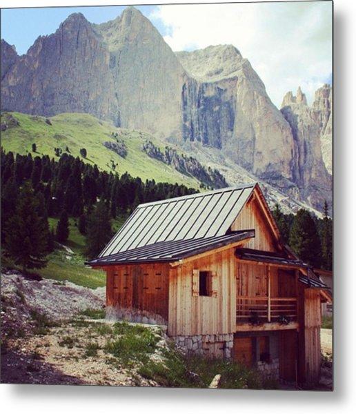 Rosengarten - Dolomites Metal Print