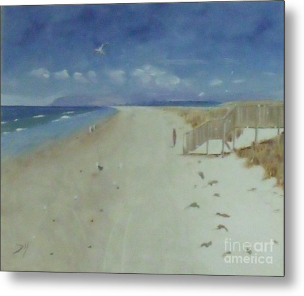 Ruakaka Beach Metal Print by Debra Piro