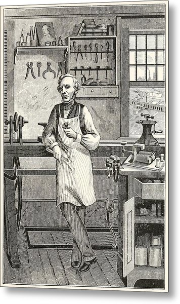 Samuel F. B. Morse 1791-1872, Inventor Metal Print by Everett