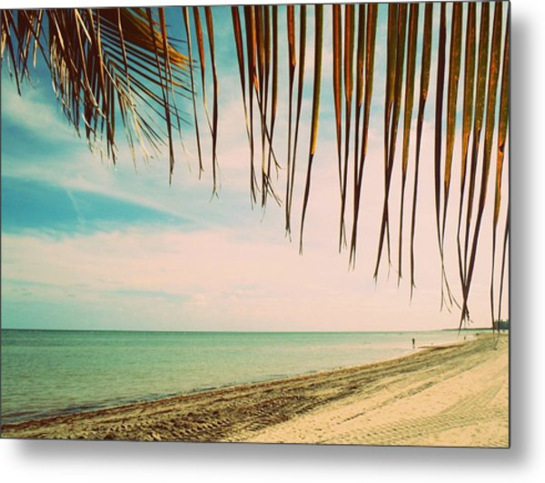 Seaside Canopy Metal Print by JAMART Photography