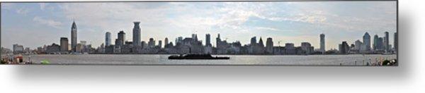 Shanghai Bund Panorama - Daytime Metal Print
