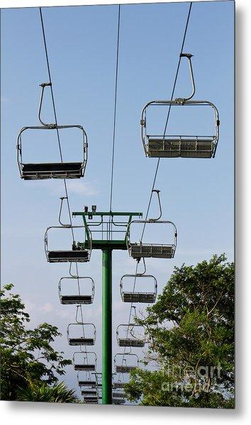 Sky Ride Metal Print by Blink Images
