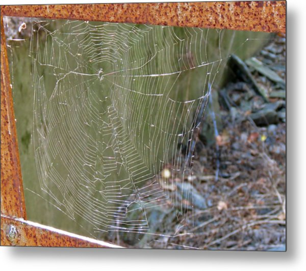 Spider Bridge Metal Print