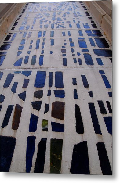 Stained Glass Metal Print by Judge Howell