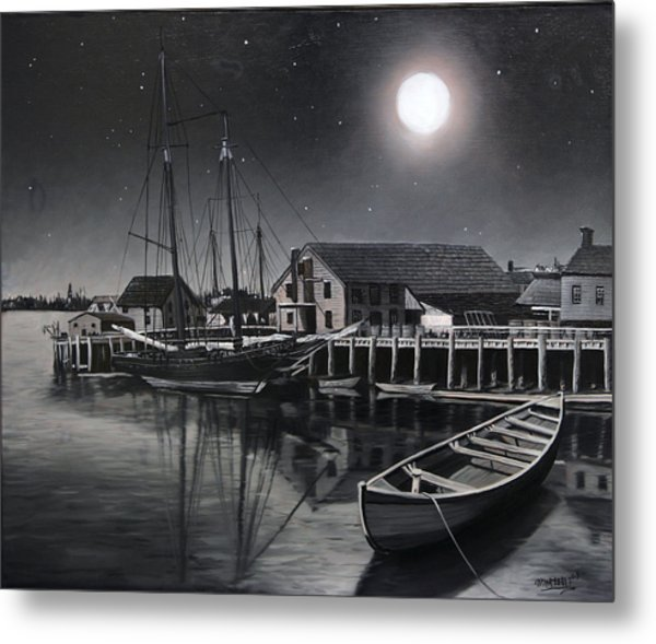 Still Water Metal Print