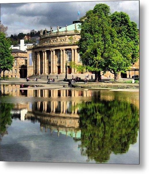 Stuttgart Staatstheater Staatsoper Opera Theatre Germany Metal Print
