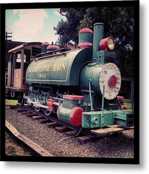 Sugar Cane Train Metal Print