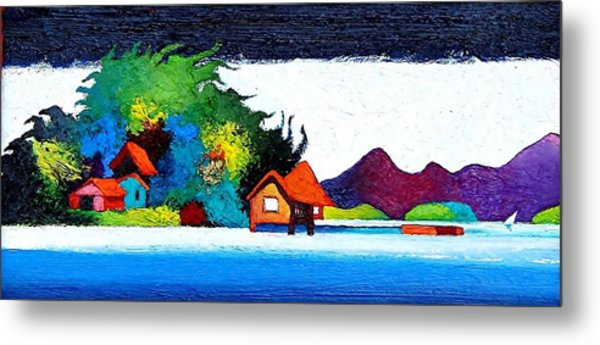 Summer Vacation Metal Print by Rob M Harper