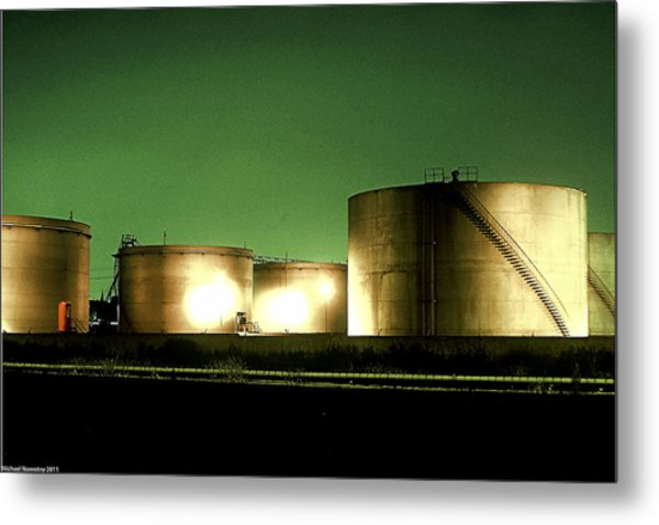 Tanks Metal Print