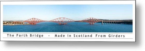 The Forth Bridge Metal Print