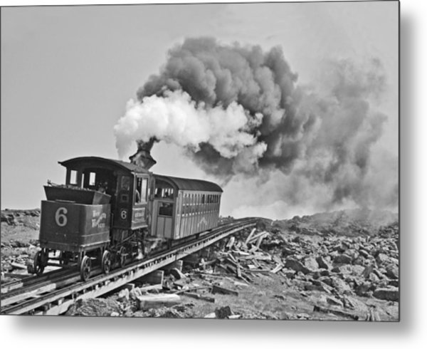 The Mount Washington Cog Railroad Metal Print
