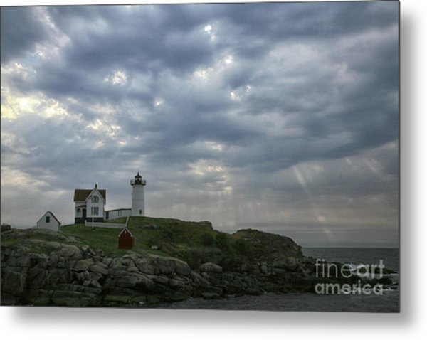 The Nubble Metal Print