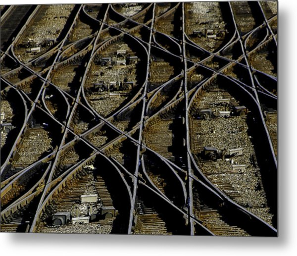 The Yard Metal Print
