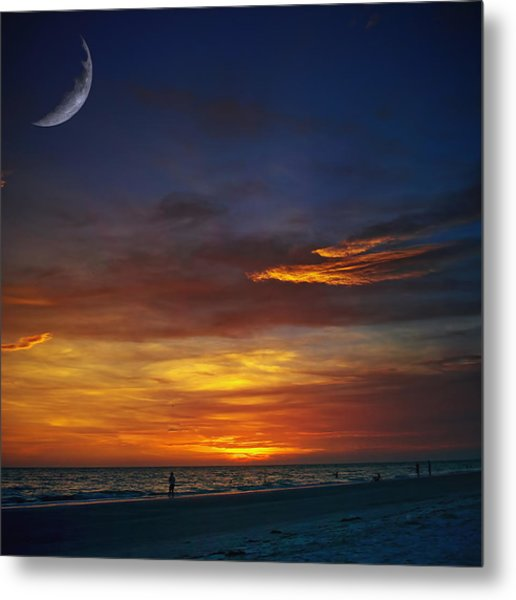 This Is What I Saw Metal Print