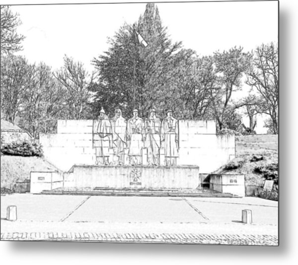 Verdun World War I Memorial Metal Print