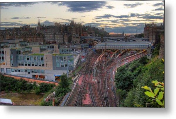 View Of Scotland Metal Print by Jose Luis Cezon Garcia