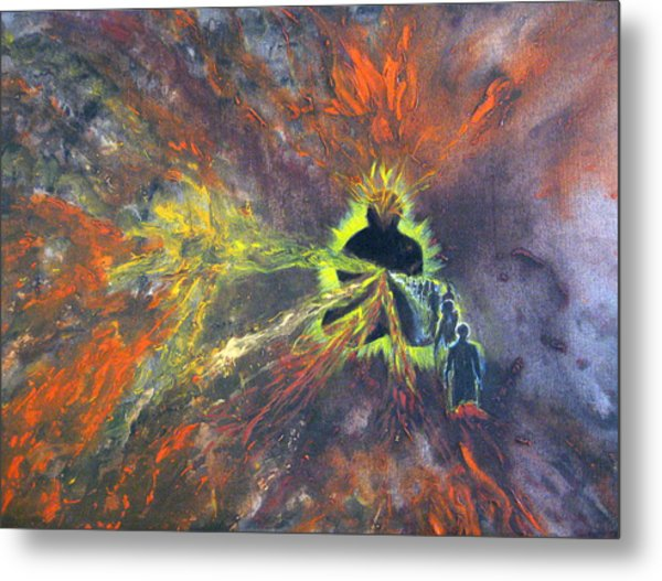 Which One Of These Is Me Metal Print by Sujata Tibrewala