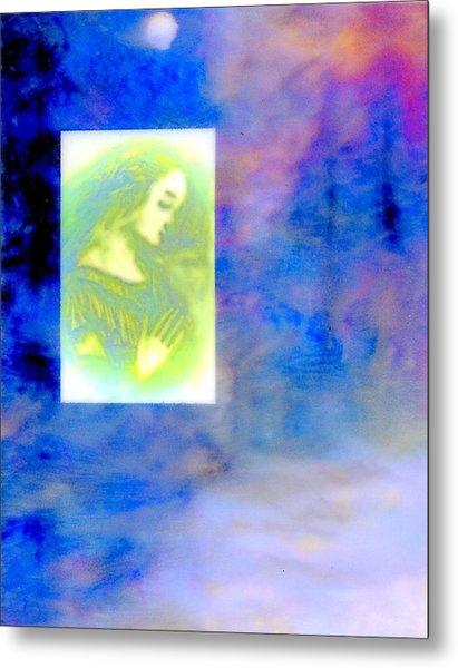 Winter Solstice Metal Print by FeatherStone Studio Julie A Miller