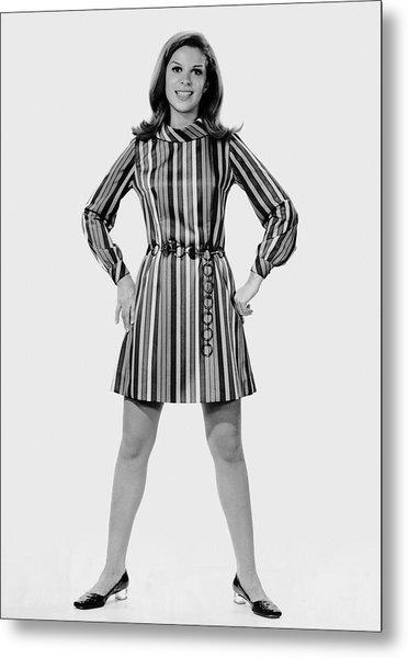 Woman Striking A Pose Metal Print by George Marks