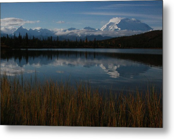 Wonder Lake Denali National Park Metal Print