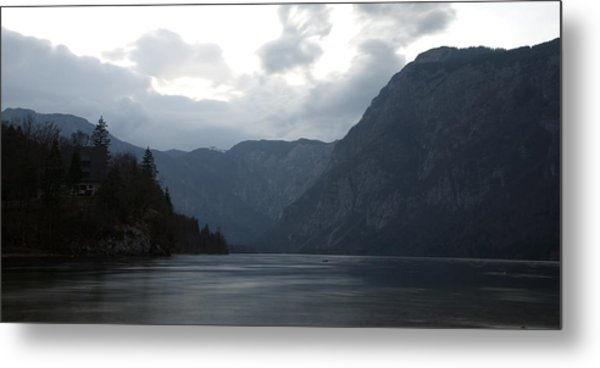 Lake Bohinj At Dusk Metal Print