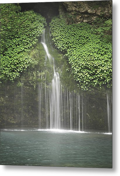 1004-1936 Natural Falls State Park 3 Metal Print by Randy Forrester
