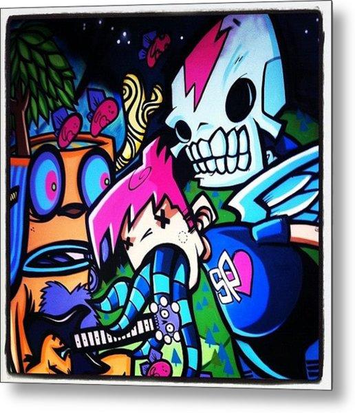 #bristolgraffiti Metal Print
