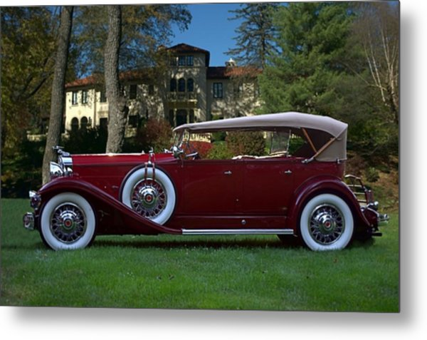 1932 Packard 903 Deluxe Eight Sport Phaeton Metal Print