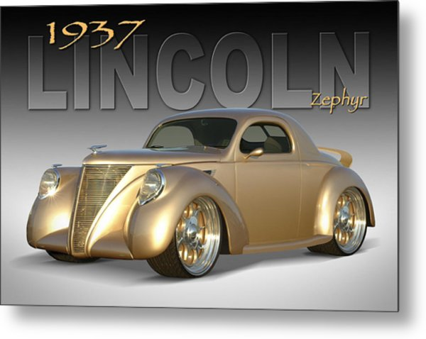 Lincoln Zephyr Metal Prints And Lincoln Zephyr Metal Art Fine Art