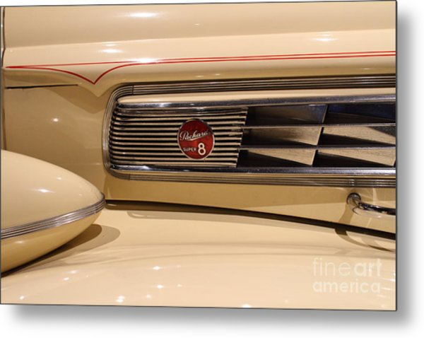 1939 Packard Super Eight Phaeton - 7d17406 Metal Print by Wingsdomain Art and Photography