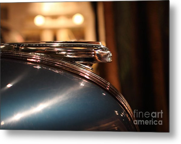 1939 Pontiac Station Wagon - 7d17417 Metal Print by Wingsdomain Art and Photography