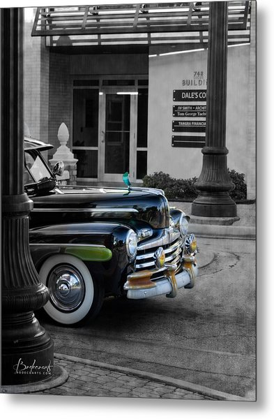 1940s Ford Out Of The Past Metal Print