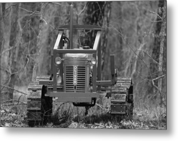 1953 Oliver Tractor Metal Print