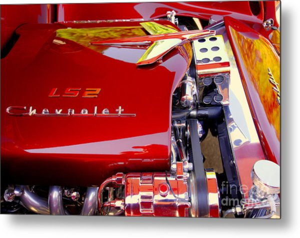 1955 Chevy Bel Air Custom Metal Print