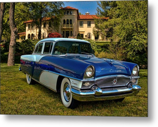 1955 Packard Clipper Metal Print by Tim McCullough