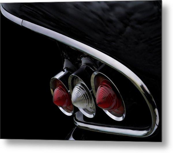 1958 Impala Tailfin Metal Print