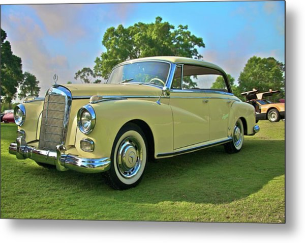 1960 Mercedes 300 Hardtop Sedan Metal Print by Mike  Capone