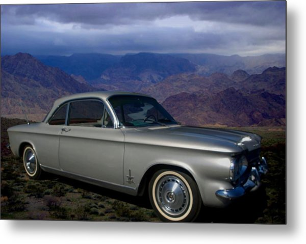 1964 Corvair Sypder  Metal Print by Tim McCullough