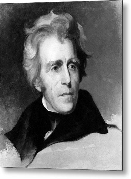 Andrew Jackson 1767-1845, U.s Metal Print
