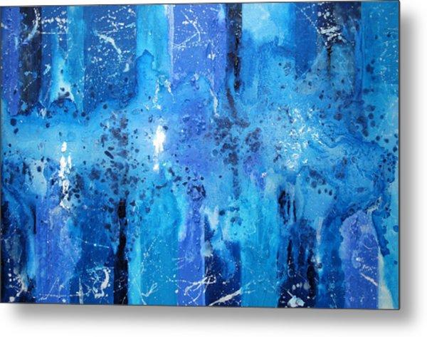 Blue Magic  Metal Print by Ian Cameron