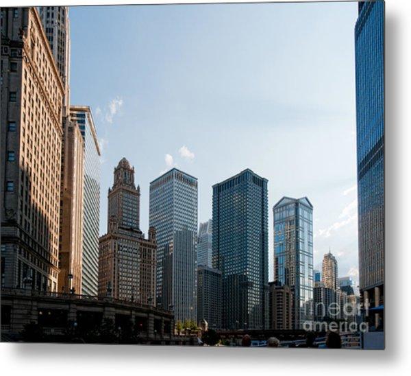 Chicago City Center Metal Print