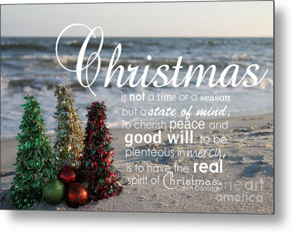 Christmas Metal Print by Ashley Barrett